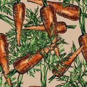 морковь бесшовный фон — Стоковое фото
