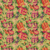 Primula Seamless Pattern — Stock Photo