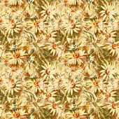 Camomiles naadloze patroon — Stockfoto