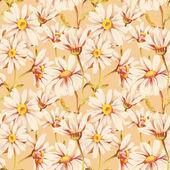 雏菊无缝模式 — 图库照片