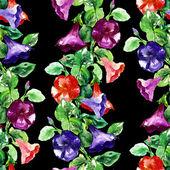 Petunia Seamless Garland — Stockfoto