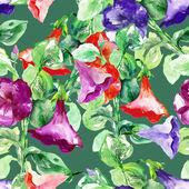 Petunia Seamless Pattern — Stockfoto