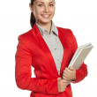 Smilling businesswoman — Stock Photo