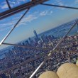 View on Empire State Building - New York city — Foto de Stock