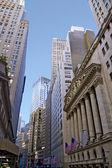 Wall Street - New York City — Stock Photo