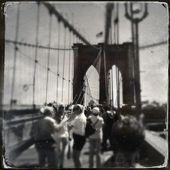 Brooklyn bridge new york — Stockfoto