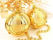 Bolas de oro — Foto de Stock