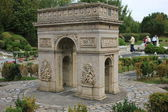 Triumphal arch in miniature — Stockfoto