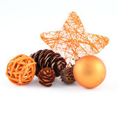 Christmas mix in orange — Stock Photo