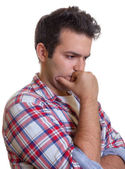 Lonely young man — Stock Photo