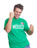 Mexican sports fan freaks out — Stock Photo
