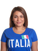 Portrait of an italian girl — Stock Photo
