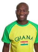 Retrato de un fanático de los deportes de ghana — Foto de Stock