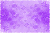 Abstract background with purple floral — Stock Photo