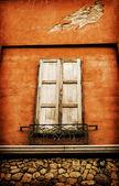 Vintage window — Stock Photo