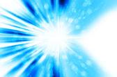 Star light with blue background — Stok fotoğraf