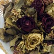 Close up dry rose bouquet — ストック写真