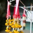 Yellow garland festoon Thailand — Stock Photo #36057177