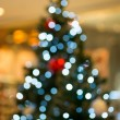 Abstract of Christmas tree light bokeh for background  — Stock Photo
