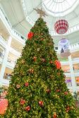 Astratto di luce per lo sfondo dell'albero di Natale — Foto Stock