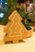 Reindeer and Christmas tree for decoration — ストック写真