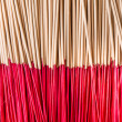 Stock Photo: Joss sticks use for respect image of sacred in Asia