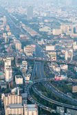View of Bangkok cityscape, Bangkok the capital city of Thailand — Foto de Stock