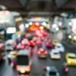 Abstract Blur traffic and car lights bokeh in rush hour background — Stock Photo #38682961