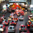 Abstract Blur traffic and car lights bokeh in rush hour background — Stock Photo #38683273