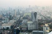 View of Bangkok cityscape, Bangkok the capital city of Thailand — Stock Photo