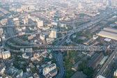 View of Bangkok cityscape, Bangkok the capital city of Thailand — Foto de Stock