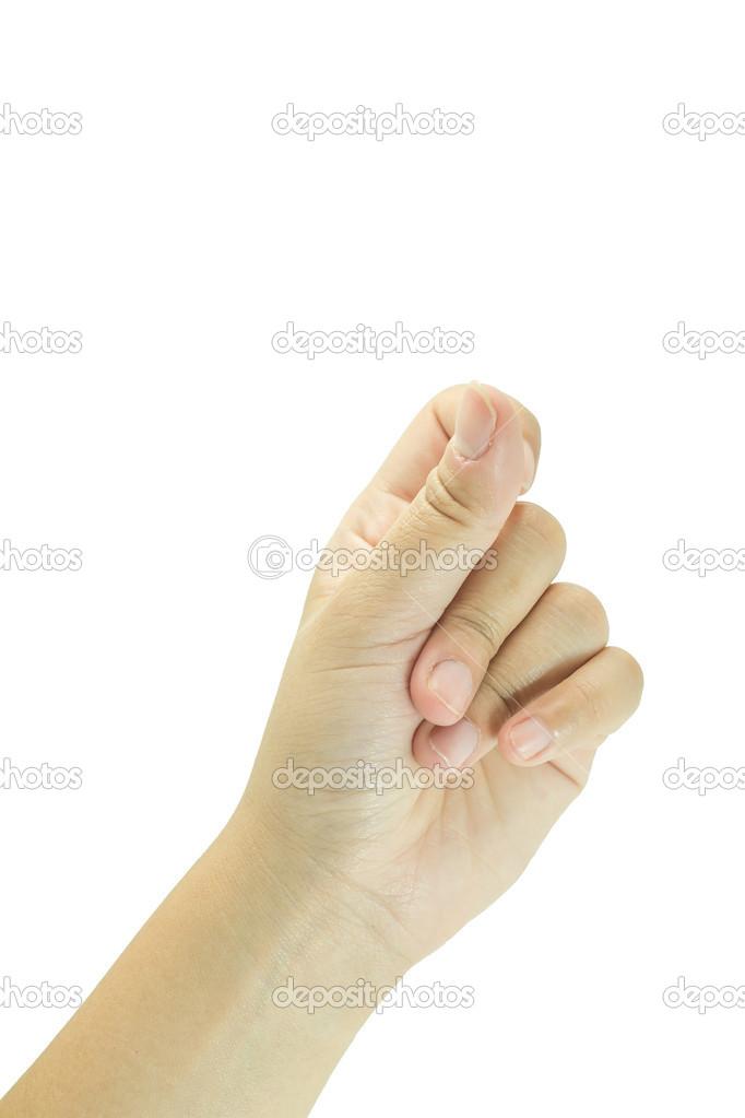 Палец Щелкающий фото