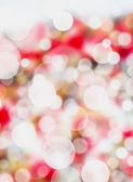Red romance bokeh abstract light background. — Stock Photo