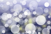 Blue bokeh abstract light background. — Stock Photo