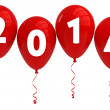 Balloons 2014 — Stock Photo