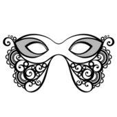 красивая маскарадная маска — Cтоковый вектор