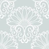 Seamless Ornate Floral Pattern — Stock Vector