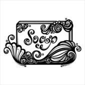 Vintage Ornate Bar of Soap — Stock Vector