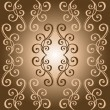 Seamless Ornate Abstract Pattern — Vettoriale Stock #41015865