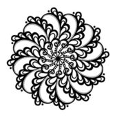 Beautiful Deco Circle (Vector) — Vector de stock