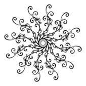 Círculo hermosa deco (vector) — Vector de stock