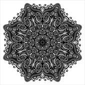 Beautiful Deco Abstract Mandala — Vetorial Stock