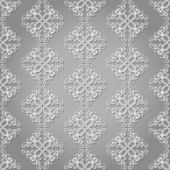 Seamless Ornate Pattern (Vector) — Vecteur