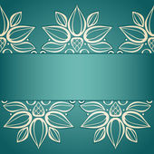 Vector Colored Floral Background — Stock Vector