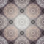 Seamless Ornate Pattern (Vector) — Stok Vektör