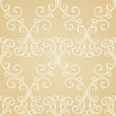 Seamless Ornate Pattern (Vector) — Stock vektor