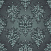 Seamless Ornate Pattern (Vector) — Vettoriale Stock