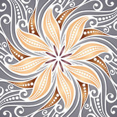 Vector Colored Ornate Backgrounds — Stock vektor