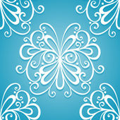 Seamless Ornate Pattern (Vector) — Stock Vector