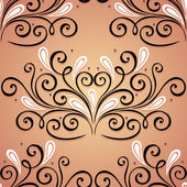 Seamless Ornate Pattern (Vector) — Vector de stock